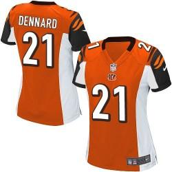 Cincinnati Bengals Darqueze Dennard Official Nike White Game Women's Road NFL Jersey