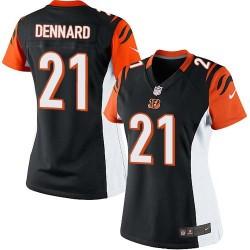 Cincinnati Bengals Darqueze Dennard Official Nike Black Limited Women's Home NFL Jersey