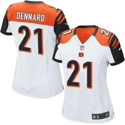 Cincinnati Bengals Darqueze Dennard Official Nike Orange Limited Women's Alternate NFL Jersey