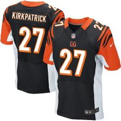 Cincinnati Bengals Dre Kirkpatrick Official Nike Black Elite Adult Home NFL Jersey
