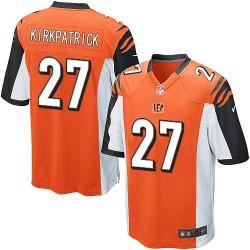 Cincinnati Bengals Dre Kirkpatrick Official Nike Orange Game Adult Alternate NFL Jersey