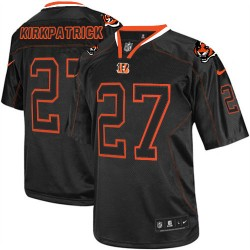 Cincinnati Bengals Dre Kirkpatrick Official Nike Lights Out Black Elite Adult NFL Jersey