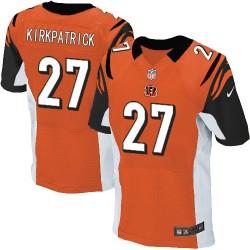 Cincinnati Bengals Dre Kirkpatrick Official Nike Orange Elite Adult Alternate NFL Jersey