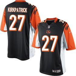 Cincinnati Bengals Dre Kirkpatrick Official Nike Black Limited Adult Home NFL Jersey