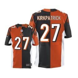 Cincinnati Bengals Dre Kirkpatrick Official Nike Two Tone Elite Adult Team/Alternate NFL Jersey
