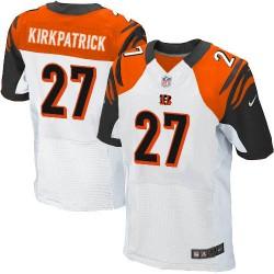 Cincinnati Bengals Dre Kirkpatrick Official Nike White Elite Adult Road NFL Jersey