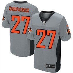 Cincinnati Bengals Dre Kirkpatrick Official Nike Grey Shadow Game Adult NFL Jersey