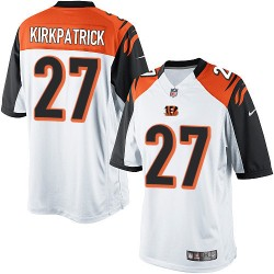Cincinnati Bengals Dre Kirkpatrick Official Nike White Limited Adult Road NFL Jersey