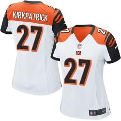 Cincinnati Bengals Dre Kirkpatrick Official Nike White Elite Women's Road NFL Jersey