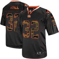 Cincinnati Bengals Jeremy Hill Official Nike Black Limited Adult Camo Fashion NFL Jersey