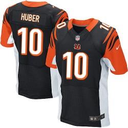 Cincinnati Bengals Kevin Huber Official Nike Black Elite Adult Home NFL Jersey