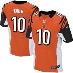 Cincinnati Bengals Kevin Huber Official Nike Orange Elite Adult Alternate NFL Jersey