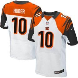 Cincinnati Bengals Kevin Huber Official Nike White Elite Adult Road NFL Jersey