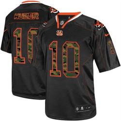 Cincinnati Bengals Kevin Huber Official Nike Black Limited Adult Camo Fashion NFL Jersey