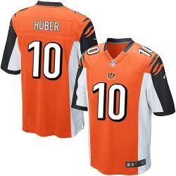 Cincinnati Bengals Kevin Huber Official Nike Orange Elite Youth Alternate NFL Jersey