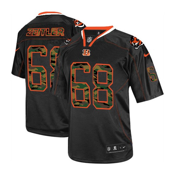 Cincinnati Bengals Kevin Zeitler Official Nike Black Limited Adult ...
