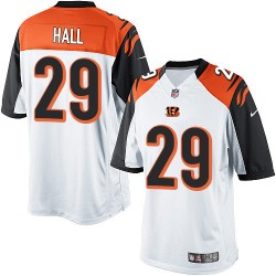 Cincinnati Bengals Leon Hall Official Nike White Limited Adult Road NFL Jersey