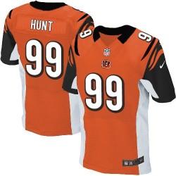 Cincinnati Bengals Margus Hunt Official Nike Orange Elite Adult Alternate NFL Jersey