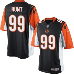 Cincinnati Bengals Margus Hunt Official Nike Black Limited Adult Home NFL Jersey